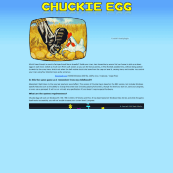 Chuckie-egg.co.uk thumbnail