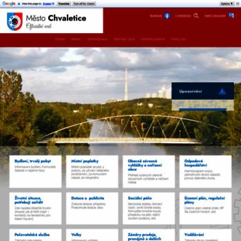 Chvaletice.cz thumbnail