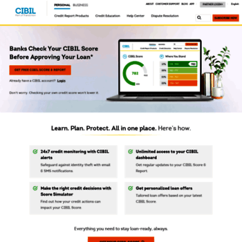 Cibil report offers