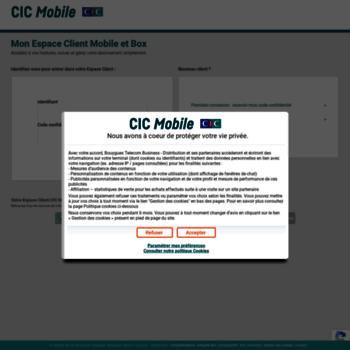 Cic-mobile.fr thumbnail