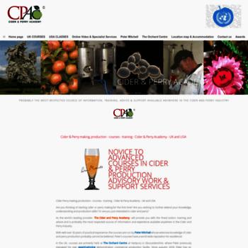 Cider-academy.co.uk thumbnail