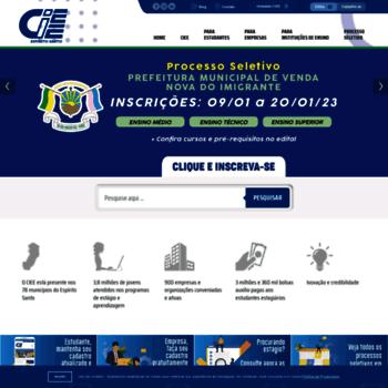 Ciee-es.org.br thumbnail