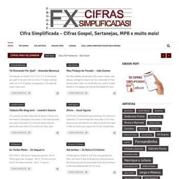 Cifrasfx.com.br thumbnail