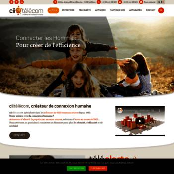 Cii-telecom.fr thumbnail