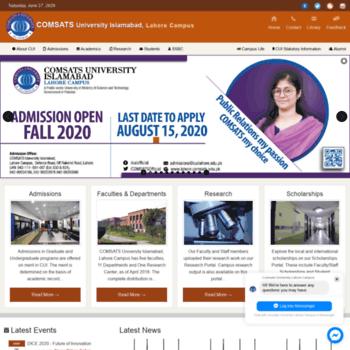 Ciitlahore.edu.pk thumbnail
