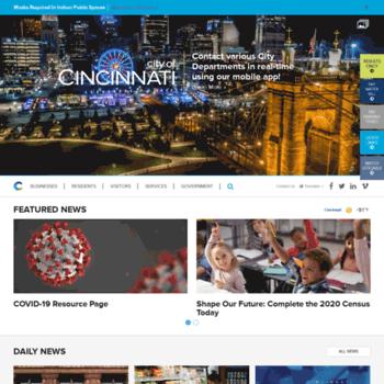 Cincinnati-oh.gov thumbnail