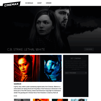 cinemax com at WI  Cinemax Official Website Featuring Movies
