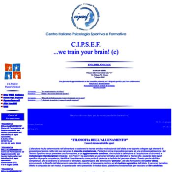 Cipsef.it thumbnail