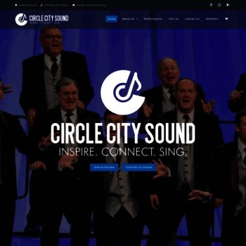 Circlecitysound.org thumbnail