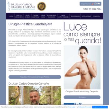 Cirujanoplasticoenguadalajara.mx thumbnail
