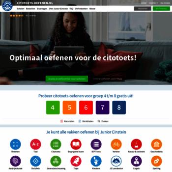 Citotoets-oefenen.nl thumbnail