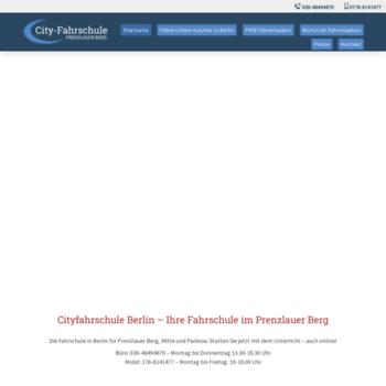 Cityfahrschule-pb.de thumbnail