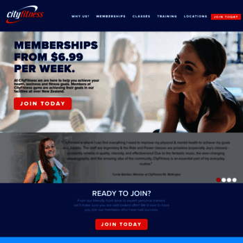 Cityfitness.co.nz thumbnail