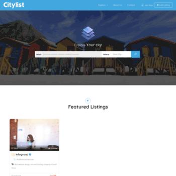 Citylist.co.za thumbnail