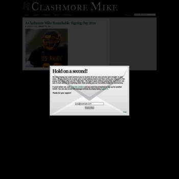 Clashmoremike.com thumbnail