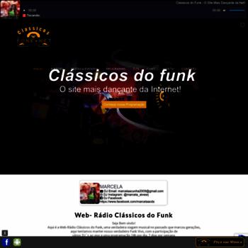 Classicosdofunk.net thumbnail