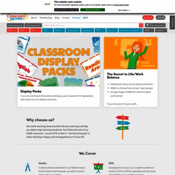 Classroomsecrets.co.uk thumbnail