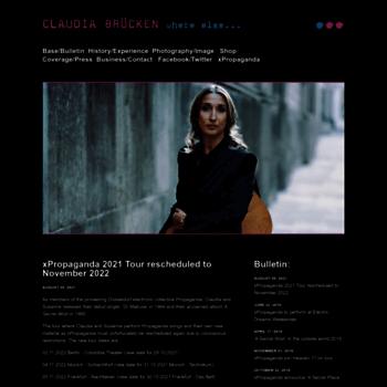Claudiabrucken.co.uk thumbnail