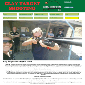Claytargetshooting.co.nz thumbnail