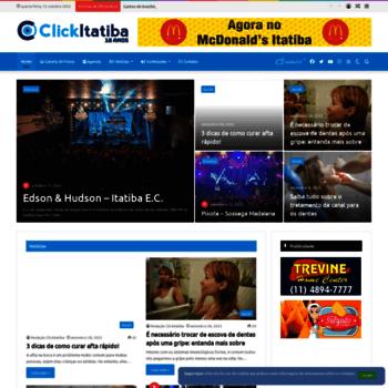 Clickitatiba.com.br thumbnail