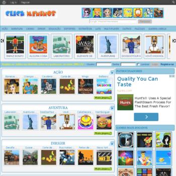 Clickmeninos.com.br thumbnail