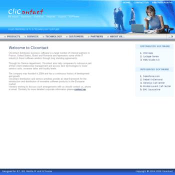 Clicontact.ro thumbnail