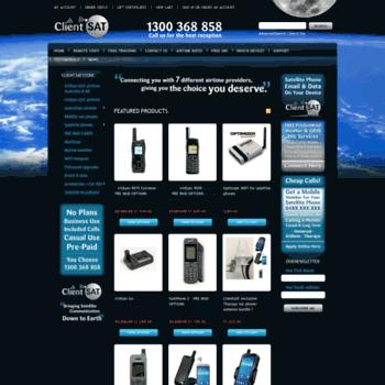 clientsat com au at WI  Satellite Phones Australia, Satellite Phone