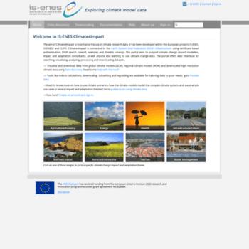 Climate4impact.eu thumbnail