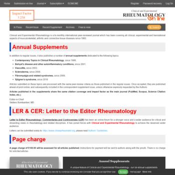 Clinexprheumatol.org thumbnail