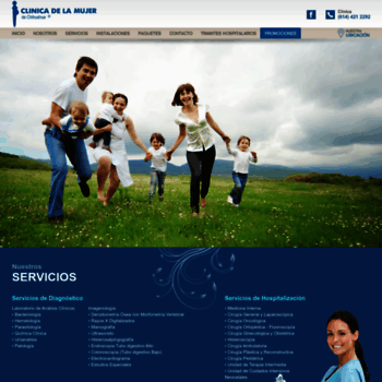 Clinicadelamujer.com.mx thumbnail
