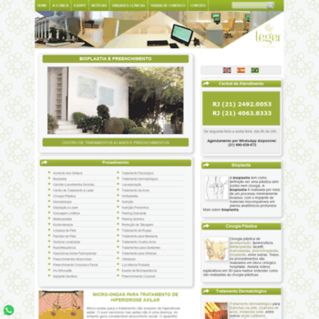 Clinicalegerrj.com.br thumbnail