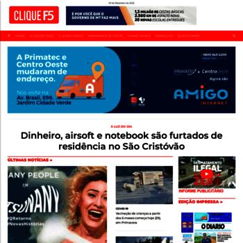 Cliquef5.com.br thumbnail