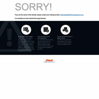 Clothing-clearance.co.uk thumbnail