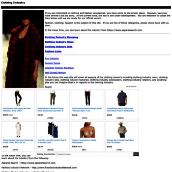 Clothingindustry.org thumbnail