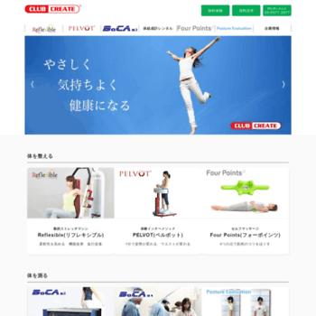Clubcreate.co.jp thumbnail