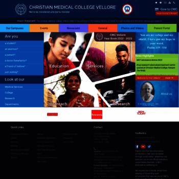 Cmch-vellore.edu thumbnail