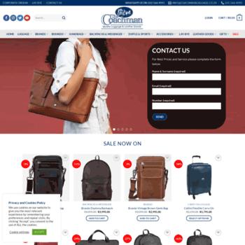 2105eacd3851 coachmanluggage.co.za at WI. The Coachman Luggage