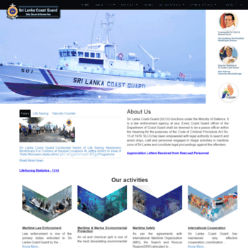 Coastguard.gov.lk thumbnail