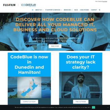 Codeblue.co.nz thumbnail