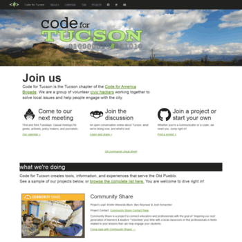 Codefortucson.org thumbnail