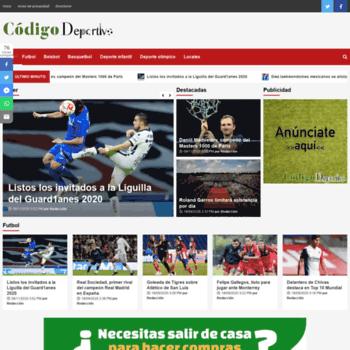 Codigodeportivo.mx thumbnail