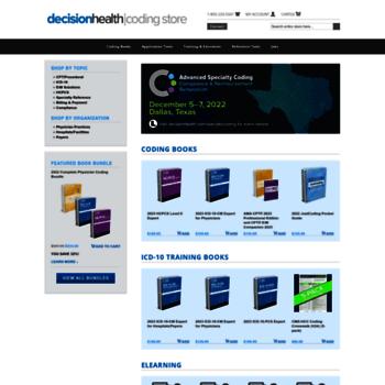 codingbooks com at WI  The Coding Store | Coding & billing