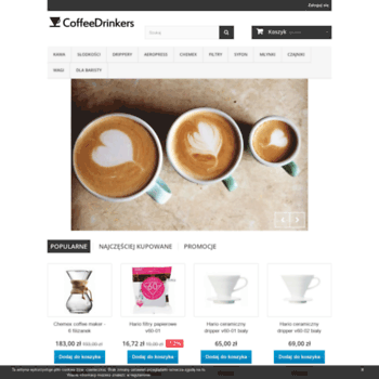 Coffeedrinkers.pl thumbnail