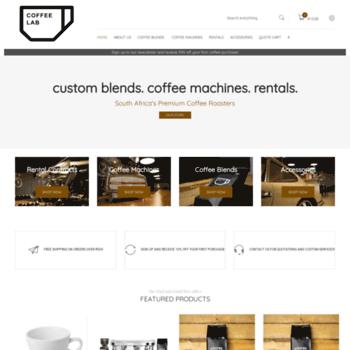 Coffeelab.co.za thumbnail