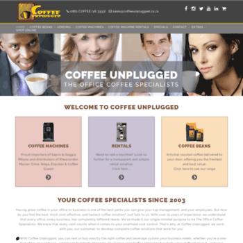 Coffeeunplugged.co.za thumbnail