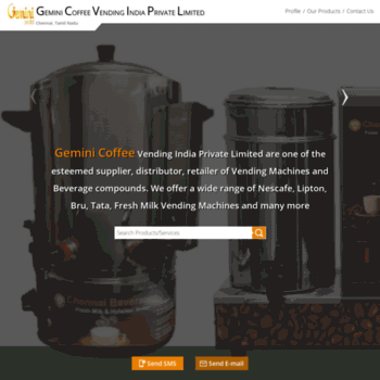 Coffeevendingmachinesindia.com thumbnail