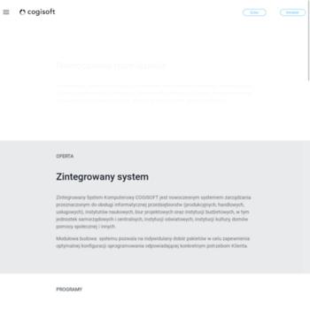 Cogisoft.pl thumbnail