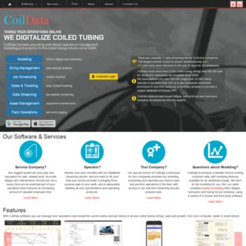 Coildata.com thumbnail