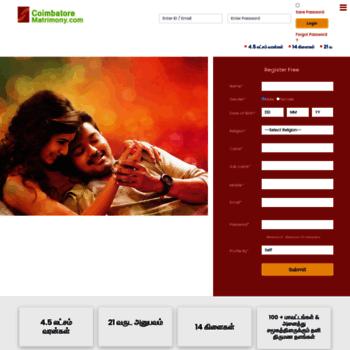 Coimbatorematrimony.com thumbnail