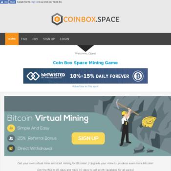 Coinbox.space thumbnail